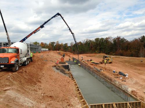 Cast-In-Place Retaining Walls