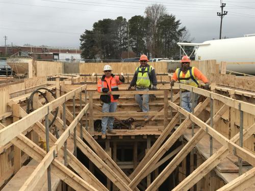 Industrial Concrete Crew